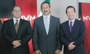 Carlos Barber, Carlos Vizcaíno y Ferenz Feher