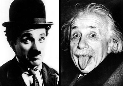 Chaplin y Einstein