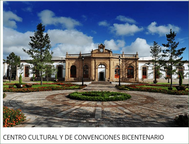 CENTRO CULTURAL Y DE CONVENCIONES BICENTENARIO